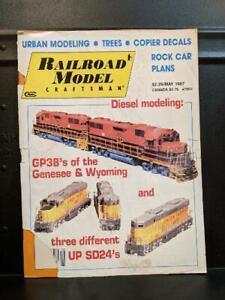 RAILROAD MODEL CRAFTSMAN May 1987