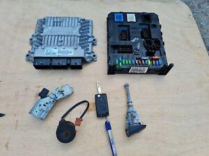 ECU SET Peugeot 407 AUTOMATIC 2.0 Rhr 9663510280 5WS40423C-T 9655534080 2004-10