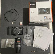 Sony Alpha a6000 Mirrorless Digital Camera w/ 16-50mm Lens & Accessories