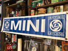 British Leyland Mini Vinyl Banner New
