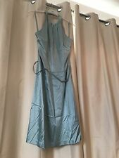 Ted Baker Mint Green Silk dress With Diamanté  BNWT VHTF