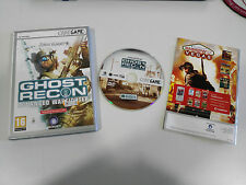 GHOST RECON ADVANCED WARFIGHTER SET PC SPANISH DVD-ROM CODE GAME UBISOFT