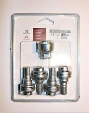 Peugeot Citroen Genuine Anti Theft Alloy Wheel Screw / Bolt  Set 1612616480 New