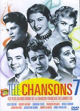 Télé-Chansons 7 : les grands noms de la chanson française des années 50 (DVD)