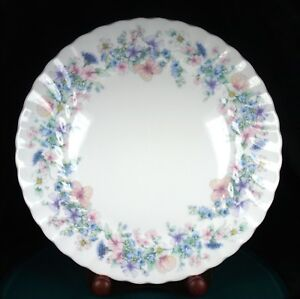 Wedgwood Angela 11 Inch Fluted Dinner Plates - 1st Quality - Very Good Condition