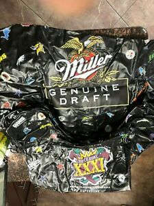 NEW UNUSED Miller Genuine Draft Inflatable Chair Super Bowl XXXI  MANCAVE/POOL
