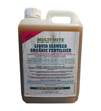 More details for multi mite 2.5 ltr organic liquid seaweed concentrate - all plant feed food