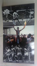 Giant Manchester City football club picture from MAINE ROAD  MCFC  MAN CITY