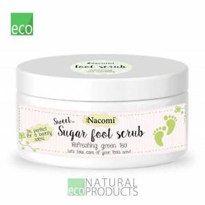 Nacomi Natural Foot Scrub Refreshing Green Tea 125g