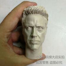 Free Shippping 1/4 scale blank Custom Head Sculpt Iron Man Tony Mark unpainted