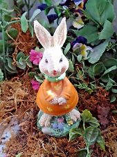Latex only rabbit mold plaster concrete casting garden mould