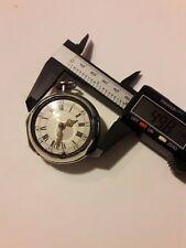 Silver verge fusee pocket watch London XVIII century