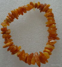 Stretch   butterscotch  Baltic Amber Bracelet  #3
