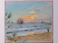 ORIGINAL OIL PAINTING SEASCAPE ART BY UKRAINE ARTIST