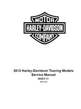 2013 Harley Electra Glide Ultra Classic CVO FLHTCUSE8 Service Shop Manual On CD