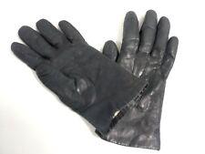 Gants MANTESSA cuir fourré vintage taille 6 ou 6.5 pour petite/fine main femme