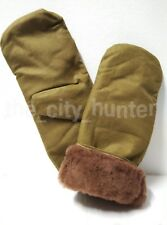 Mittens of sheepskin. Army of the USSR. Very warm, for work in cold weather.