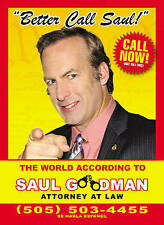 Better Call Saul: The World According to Saul Goodman book new
