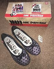 Marque Neuf Filles One Direction Dolly Chaussures | taille 2.5 UK |