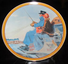"""Knowles Collector Plate """"The Journey Home"""" Norman Rockwell Limited Edition 1987"""