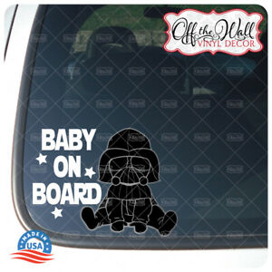 """Baby Vader Character """"Baby, Kid, or Kids on Board"""" BUYERS CHOICE - Sign"""