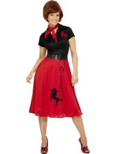 50s Style Poodle Adult Womens Smiffys Fancy Dress Costume