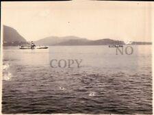 FOTO DEL 1927 - VAPORETTO REGINA MADRE SUL LAGO MAGGIORE -   C9-1156