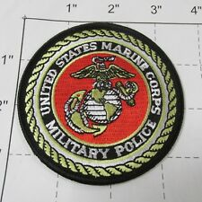 USMC MARINE CORPS MILITARY POLICE MP SEAL LOGO CORP COLORFUL MILITARY PATCH