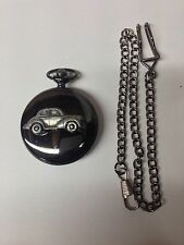 "Morris Minor Series 2 (Split Screen ""Face Lift"") ref164 black mens pocket watch"