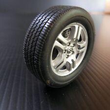 Roue disque pneu W Volkswagen plastique caoutchouc voiture miniature N5487