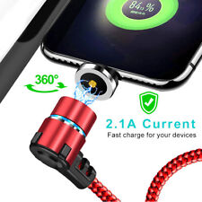 3FT L-forma Micro USB Cable de tipo C-C Carga Rápida Cable Cable De Cargador Magnético
