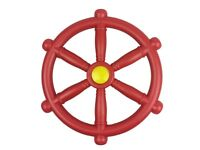 Kids Climbing Frame Pirate Red Wheel ideal for Climbing frames and Play house