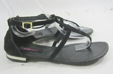 Summer Black Dollhouse Ankle Strap Sexy Cool Shoes Sandals Size 7