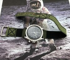 20mm Nasa style Strap fit your Omega Speedmaster Moon watch.