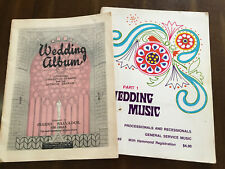 WEDDING MUSIC  Wedding Album for Organ  plus Wedding Music Part I