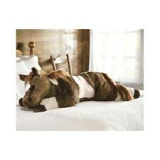 Plush Horse Big Stuffed Animal Pony Body Pillow Cute Large Horses Huge Toy Soft