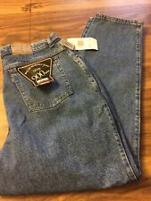 """Vintage Deadstock 1989 Levi's 902 """"Instant Old"""" Relaxed Fit Blue Jeans Sz. 22 W"""