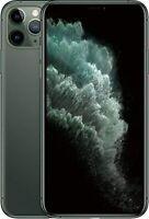  Apple iPhone 11 Pro Max 64gb A2161 AT&T Midnight Green