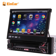 """7"""" Android 7.1 Single 1Din Car Stereo Radio GPS Wifi OBD2 Mirror Link DVD Player"""