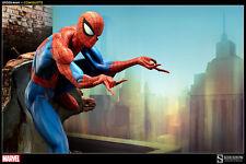 SPIDER-MAN~COMIQUETTE~J SCOTT CAMPBELL~SPIDER-MAN COLLECTION~SIDESHOW~MIB