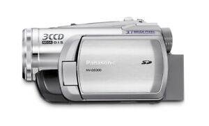 Panasonic NV-GS300EB Camcorder,PAL, O.I.S,3CCD, DV-in