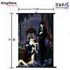 Japan Anime Black Butler Kuroshitsuji Home Decor Poster Wall Scroll 21*30cm 14