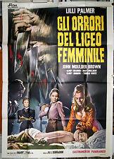 manifesto 4F film LA RESIDENCIA Lilli Palmer Narciso Ibáñez Serrador 1970