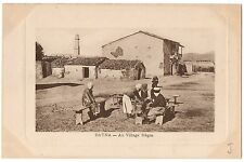CPA ALGERIE - BATNA - Au Village Nègre (animée)