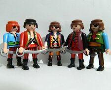 Playmobil 5 Pirates Figures - Pirate REF PT1
