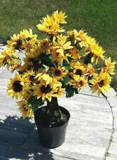 Busch  Künstliche Sonnenblumen ca 70 cm      Deko  Echt Holz