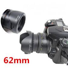 62mm Reversible Petal Flower Lens Hood For Nikon Canon Olympus DSLR Camera