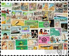 More details for mauritania : 200 different stamps collection