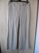 H&M H & M Sommer Stretch Hose 36 beige Business Look Office Style edel