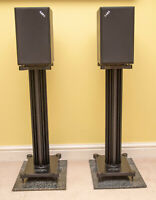 ACOUSTIC ENERGY AE1 Series I Classic Model Studio Monitor Speakers STAE1 STANDS